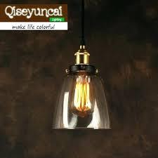 glass bell pendant light pair of scalloped prismatic glass bell clear glass pendant lights australia lighting