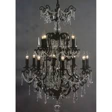 large crystal chandelier photo 11