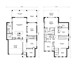 two story house plans queensland home deco
