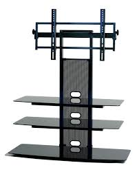 Tv Stands For Lcd Tvs Amazoncom Transdeco Tv Stand With Universal Mounting System For