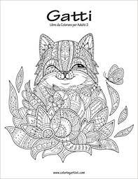 Amazonit Gatti Libro Da Colorare Per Adulti Volume 2 Nick Snels