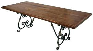dining table base wood. Iron Dining Table Base Industrial Cast Style Wooden Legs Wood