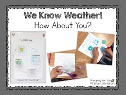 We Know Weather How About You Anchor Charts Vocab Water Cycle Weather