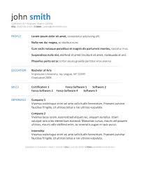 Chronological Resume Samples Free Download Word Format Examples 2017 ...