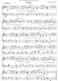 chopin spring waltz sheet music brahms waltz sheet music for piano music pinterest sheet