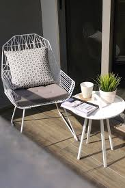 modern outdoor chair small patio