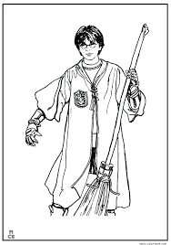 Harry Potter Coloring Pages Kitchen Of And The Sorcerers Stone