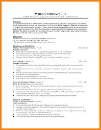 Hospital Pharmacist Resume Sevte