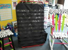 The Very Busy First Graders Diy Black Pocket Chart