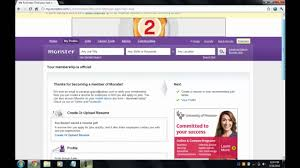 Resume Monster How To Create A Monster Account And Upload Resume YouTube 22