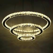 crystal hanging lamp led crystal chandelier chic modern minimalist style light hanging ceiling pendant lamp for