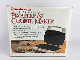 Toastmaster International Pizzelle Cookie Maker Model 292 Electric