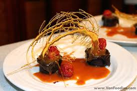 Dessert With Sugar Art Decoration Vanfoodiescom