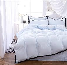 light blue bedding set duvet cover set twin full queen king size bedclothes bed sheet bedding sets bed linens pillowcase set aliexpress mobile