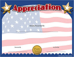 Military Certificate Templates Custom Military Appreciation Certificate Templates