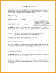 Origin Resumes Teaching Objectives For Resumes Teaching Objectives For Resumes