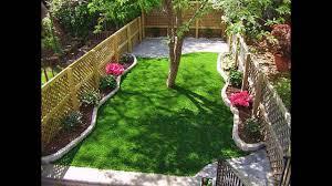 Small Picture Artificial grass small home garden ideas YouTube