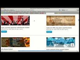 Event Ticket Printing Software Event Tickets From Ticketprinting Com Youtube