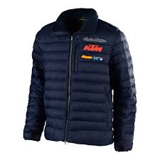 Details About Troy Lee Designs Tld Ktm Team Dawn Mens Waterproof Jacket Navy