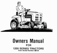 power king manuals owners manual for 1200 series tractors serial number 60538 through 65183 parts and service information included