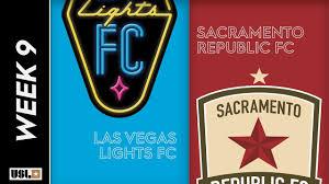 Sacramento Republic Vs Las Vegas Lights Las Vegas Lights Fc Vs Sacramento Republic Fc May 4th 2019