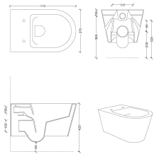 hide round wall hung toilet hide