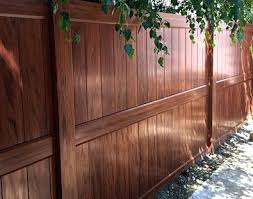 brown vinyl fence panels. White Scalloped Picket Vinyl Fence Panel Panels Lowes Linden Pro Privacy Brown