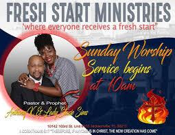 Fresh Start Ministries - Posts | Facebook