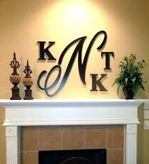 letters wall decor wooden monogram letters for wall letters for wall large inch wooden monogram hand letters wall