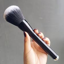 2016 big beauty powder brush blush foundation make up tool large cosmetics aluminum brushes soft face makeup wedding makeup elf makeup from fashionga