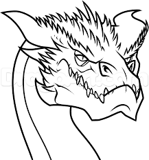 Small Picture How to Draw Smaug Easy Step by Step Dragons Draw a Dragon