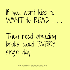 Reading Quotes For Kids Extraordinary If You Want Kids To Want To Read Then Read Aloud Simply