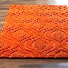 teal and orange rug teal red