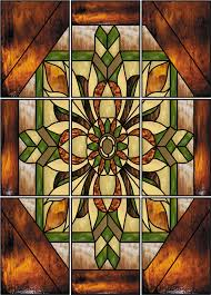 decorative window stained glass stone m faux privacy clings and s