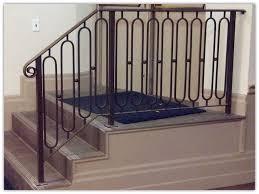 iron painting decorative wrought iron railing railing