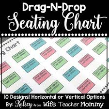 Editable Seating Chart Templates Just Drag Drop By Wife