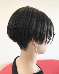 メンテナンスカットでした モードヘア後ろ刈り上げパッツン