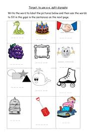 However, our language is more complex than this. A E Split Digraph Worksheet Teaching Resources