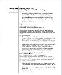 sample resume of a customer service rep resume examples 2012