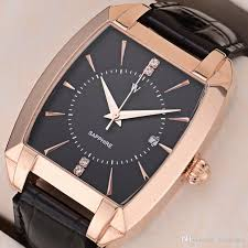 mens watch japan citizen 8215movement black brown leather strap pointer calendar dial stainless steel barrel 41 mm casual watches a6 1 stylish watches