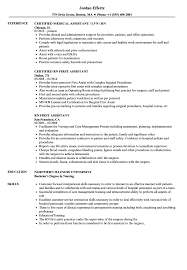 Certified Medical Assistant Resume Samples RN Assistant Resume Samples Velvet Jobs 58