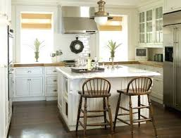 white country kitchen with butcher block. Square Kitchen Designs Lovely Country Design With Glass Front White Cabinets Rustic Butcher Block
