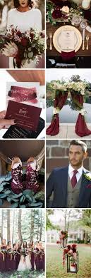 A Magical Maroon, Gold & Navy Palette for an Elegant Winter Wedding