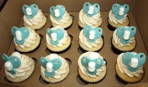 Photo Baby Shower Cupcakes Cake Image