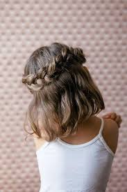 Image Coiffure Petite Fille Mariage Cheveux Mi Long Coiffure