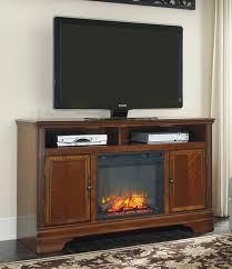 hamlyn 60 xtall tv stand with fireplace w527 68 w100 01 home entertainment from ashley at