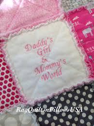 Elephant Baby Quilt - Baby Girl Rag Quilt - Grey Pink Quilt ... & Elephant Baby Quilt - Baby Girl Rag Quilt - Grey Pink Quilt - Embroidered  Baby Quilt - Homemade Baby Quilt - Baby Girl Blanket - Crib Quilt Adamdwight.com