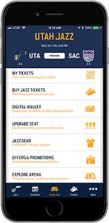 Vivint Arena Jazz Utah App
