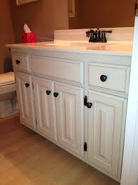 bathroom cabinet redo. Painted Oak Cabinet Painting Bathroom Cabinets The Average Guide To White Design Ideas Redo