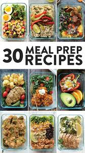 Weekly Lunch Prep Healthy Meal Prep Recipes 30 Ways Fit Foodie Finds